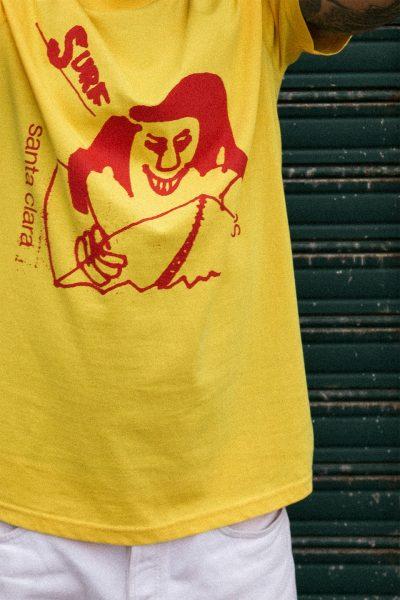 camiseta Santa Clara Stereo Surf amarillo