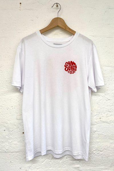 camiseta Santa Clara Round white