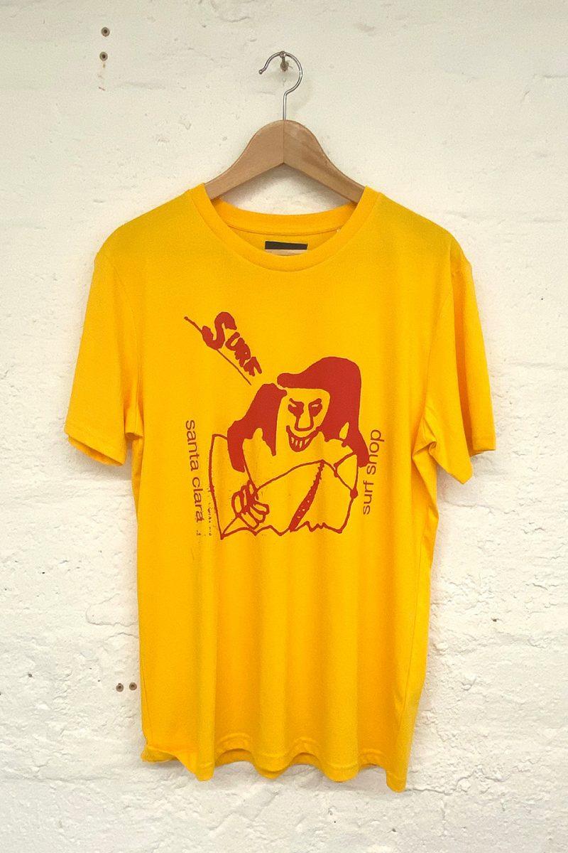 camiseta Santa Clara Stereo Surf Yellow