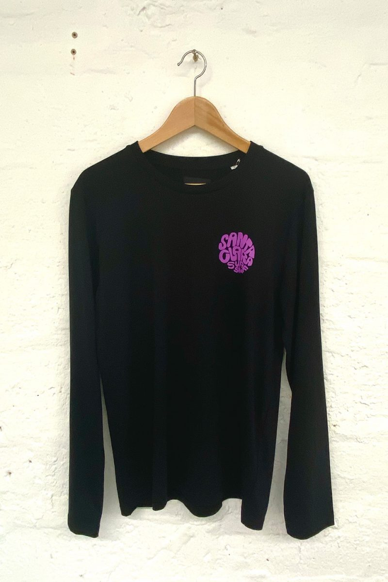 camiseta Santa Clara Round black