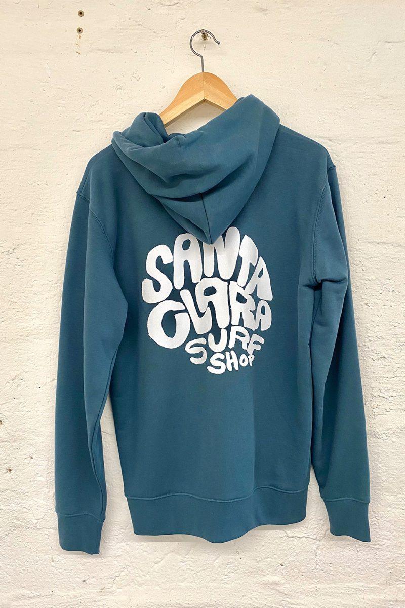 Sudadera Santa Clara Round Blue back